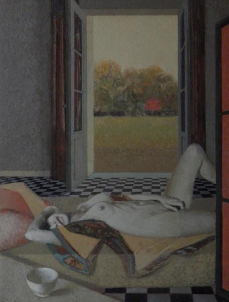 Sonate d'automne, 65/54 cm, 2016.