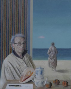 La mémoire et la mer, 92/73 cm, 12-2013